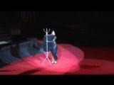 Бенефис Златы Цирценс. 420 костюмов художника в одном спектакле.