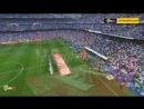 دخلة أكثر من رائعة من جمهور ريال مدريد امام برشلونة في كلاسكيو الاسباني