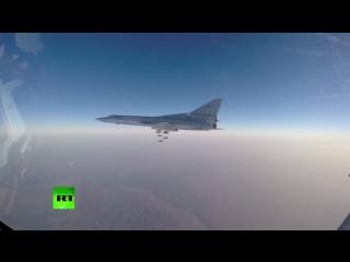 Шесть российских бомбардировщиков нанесли удары по объектам ИГ в Сирии
