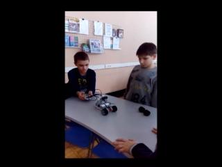Первое занятие в библиотеке имени В. И. Даля № 208 с Lego Minstorms
