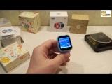 Smart watch Q100 (Q750) Обзор - сравнение! Детские часы с GPS