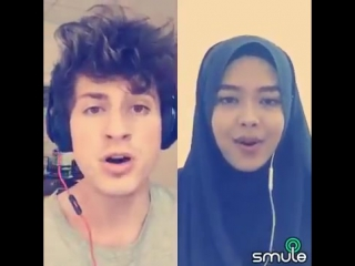 We Dont Talk Anymore - Charlie Puth Sheryl Shazwanie (duet on Smule app)