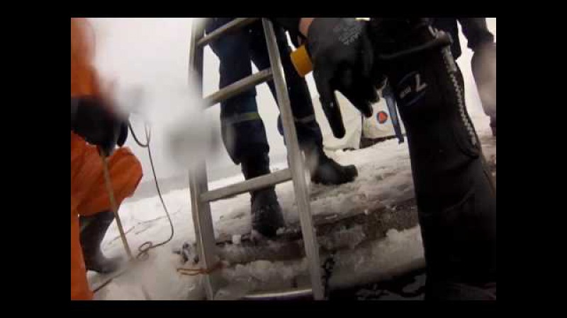 Водолазные сборы спасателей Челябиснкой городской службы спасения