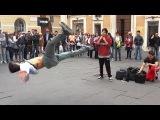 Hip Hop Music Dance - Street Artists Fly on Rap