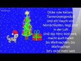 *Dicke rote Kerzen *Текст рождественской песенки на немецком языке с переводом