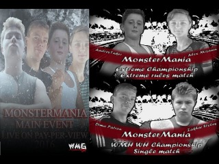 30.10.16 WMG PPV MonsterMania 3(Рестлинг)