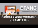 Модуль DataMobile ЕГАИС Работа с документами ЕГАИС ТТН