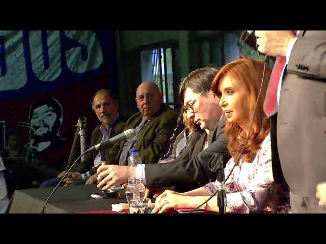 CFK recibe títulos Honoris Causa de la UNQ y la UNDAV CristinaenQuilmes