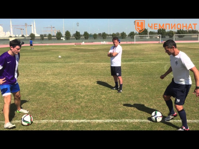 5 упражнений на технику владения мячом. Быстрая стопа | Чемпионат