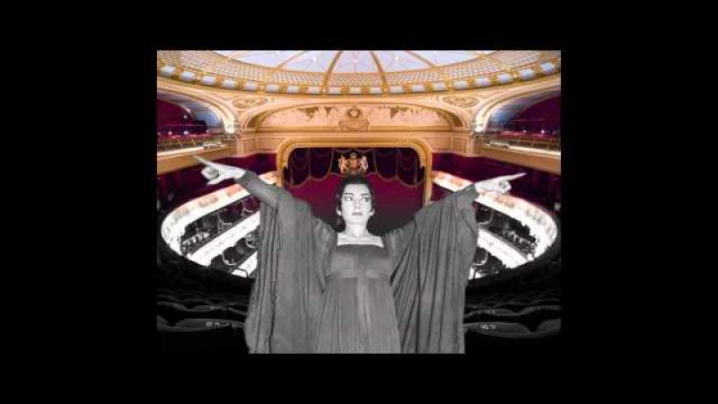 Maria Callas - The London Medea in Fantastic Sound! AMAZING!