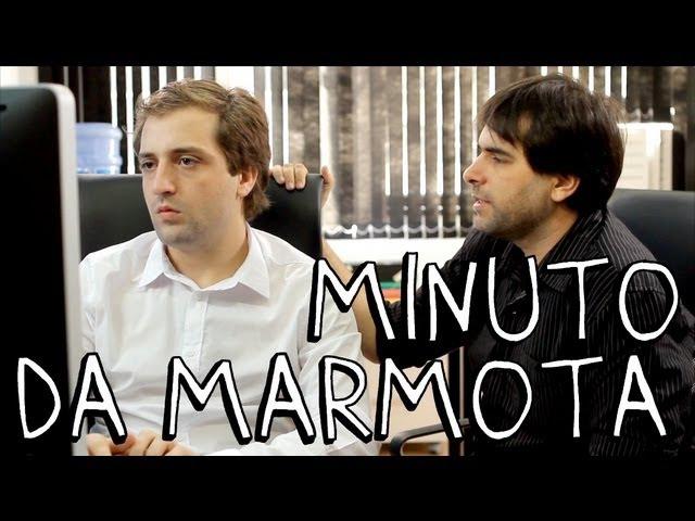 MINUTO DA MARMOTA - Porta dos fundos N°2 » Freewka.com - Смотреть онлайн в хорощем качестве