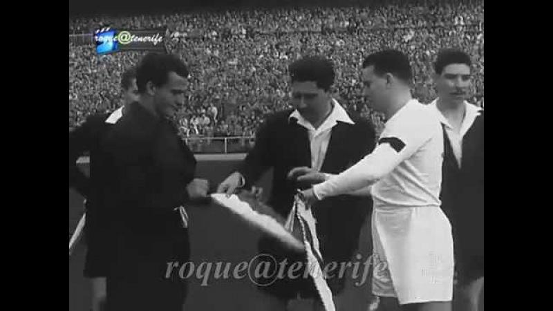 Independiente de Avellaneda 6 Real Madrid España 0 año 1953 resumen