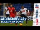 SKILLS | Wellington Silva's skills v MK Dons