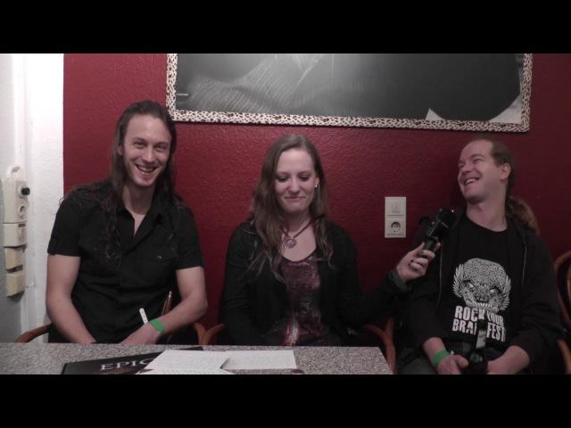 Interview with Epica 2017, Mark Jansen and Arien van Weesenbeek