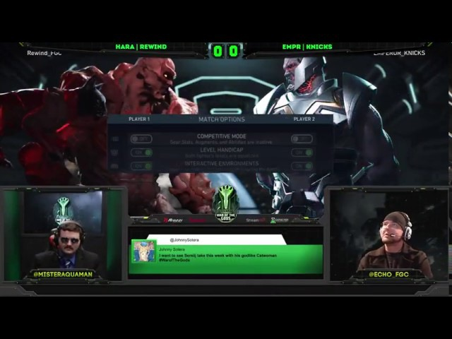 Injustice 2 War Of The Gods Week 4 Top 8 ft Semiij, WoundCowboy, ILuusions and more