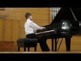 Denis Pashkov 12yo plays Rachmaninoff Etude-tableau Op.33 No.8 in G minor