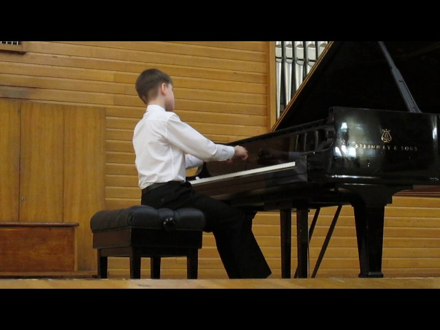 Denis Pashkov 12yo plays Rachmaninoff Etude-tableau Op.33 No.8 in G minor