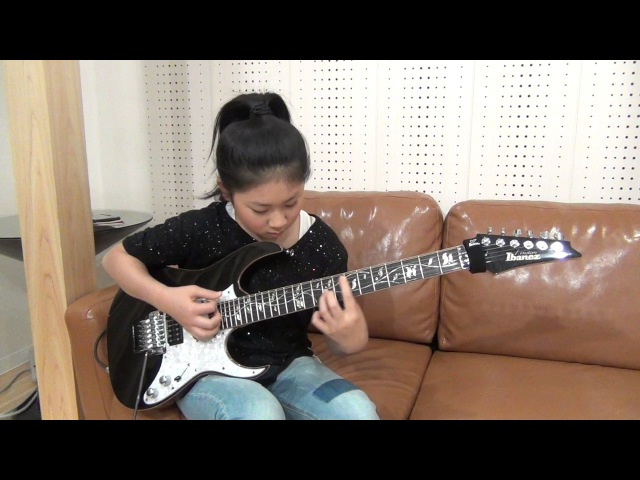 Kiko Loureiro Gray Stone Gateway cover / Li-sa-X (Japanese 11 year old girl)