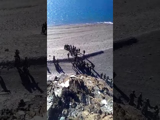 FirstOnThePrint Visuals of clash between Indian and Chinese soldiers in Ladakh on August 15 2017