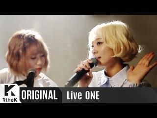 Live ONE: Bolppalgan Puberty_The First Live Performance!_Tell me you love me(좋다고 말해)