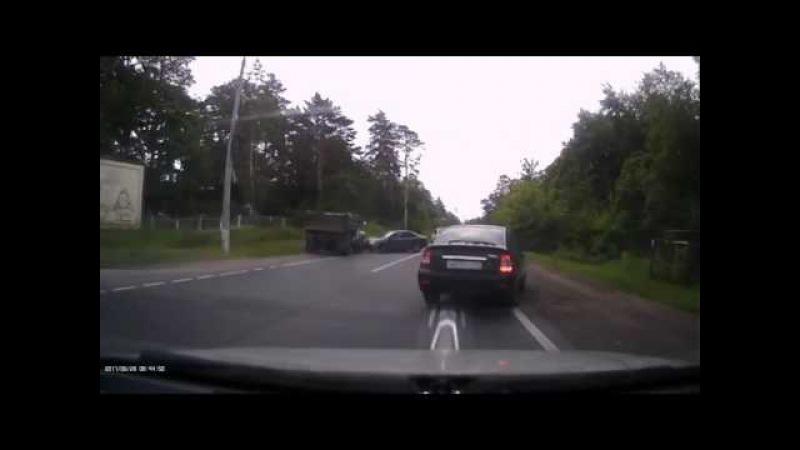 ДТП Тольятти, грузовик выехал на встречную полосу