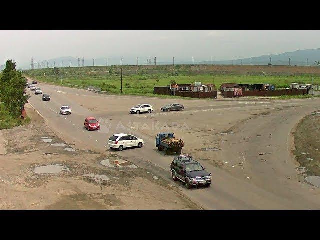 Находка ДТП 1 июля Опрокинулся микрогрузовик ул. Шосейная поворот на Врангель