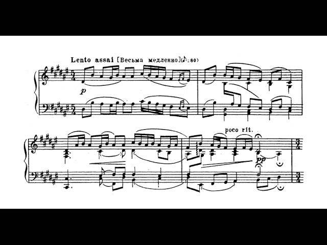 Sergei Lyapunov Variations and Fugue on a Russian Theme Op 49 GSARCI VIDEO REVIVAL