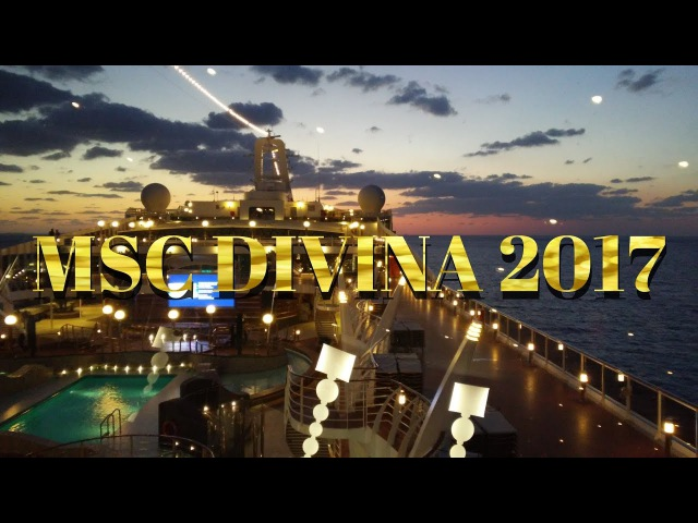 MSC DIVINA 2017 SHIP TOUR AND REVIEW