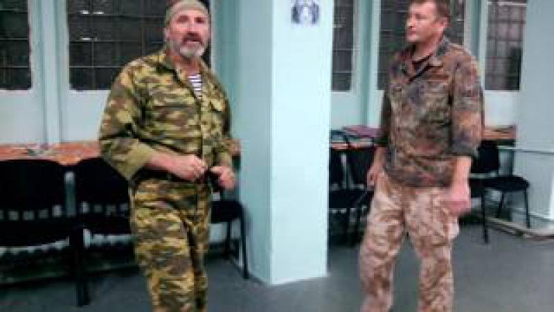 Занятие №41 Александр Руденко Ножевой бой Часть 2 Казачий Спас Харьков