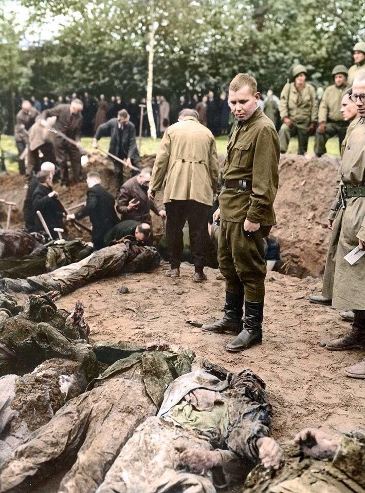 перезахоронение солдат