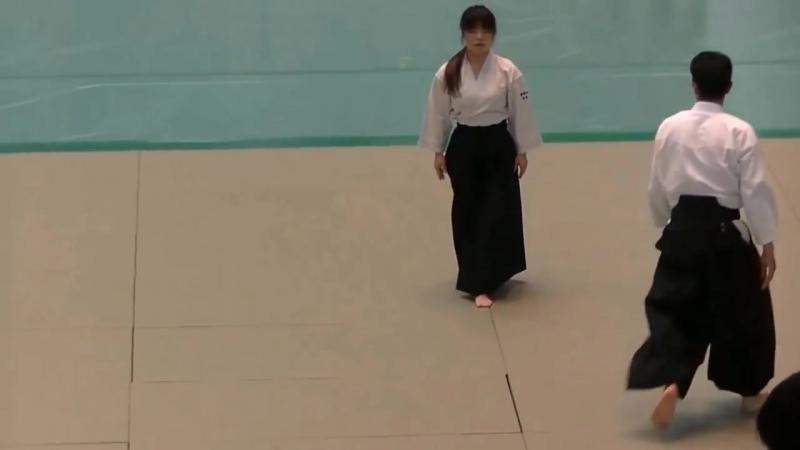 Отличные атэми в показательном выступлении. aikido айкидо айкидопоутрам пермь айкидопермь