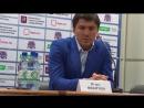 Игорь Никитин Во второй половине пришлось пообороняться, вратарь помог