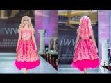 FASHION WEEK WORLD 2017 / WELCOME TO RUSSIA  Русская Барби Татьяна Тузова , дизайнер ZAZA AMAROV