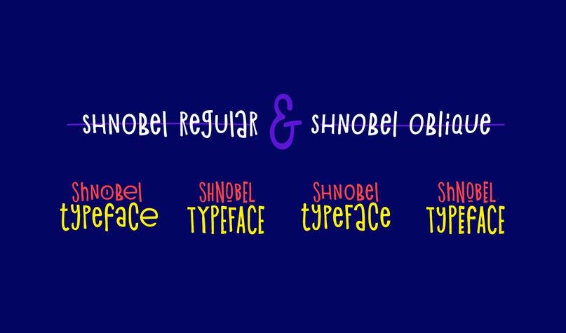 Shnobel шрифт скачать бесплатно
