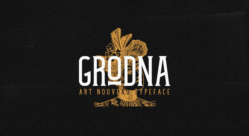 Download Grodna font (typeface)