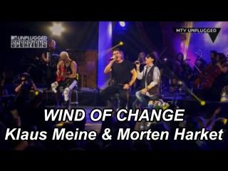 Scorpions With Morten Harket - Wind Of Change (Live)