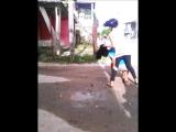 Pelea de chicas Las Tunas Cuba