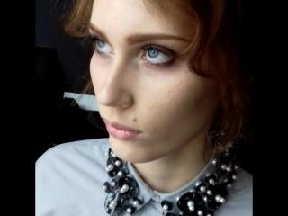 макияж и волосы в моем исполнении.#мастерМаринаБордюгова. дизайнер:Вера Оропай модель Диана Чурикова