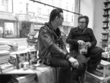 Jyrki Linnankivi Jonathan Shaw at Nide bookstore 3 Helsinki 08.02.2017