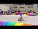 Показательное выступление с булавами - «Новогорские звездочки-2017», 25-26 мая 2017 год, Центр гимнастики Ирины Винер-Усмановой