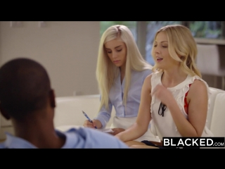 Naomi woods x karla kush - first interracial threesome (sex, amateur, teen, webcam, masturbation, fap)(natural girls porno)