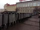 Брутальный разгон попытки  майдана в Минске