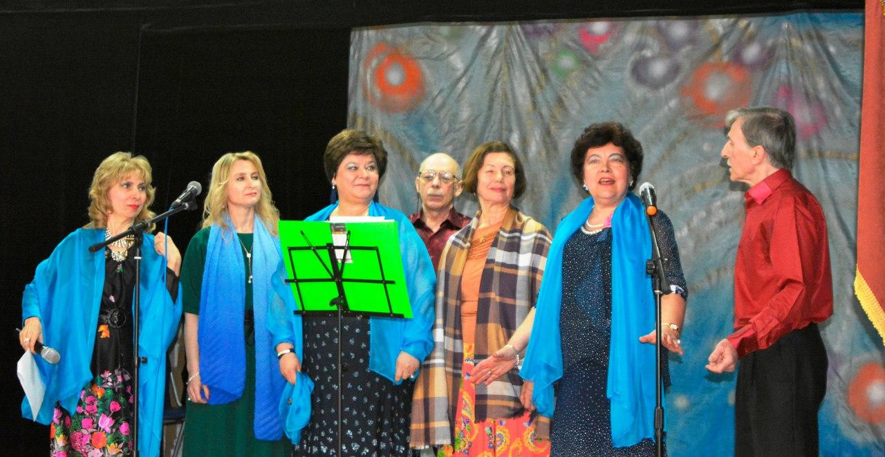 вокальная студи для пенсионеров