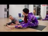 Как сесть на шпагат дома! Комплекс упражнений для растяжки
