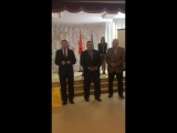 В составе делегации Ногинского района от имени Главы поздравили с 25-летием со дня образования ветеранскую организацию г. Электр