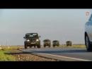 Кадры гонки на военных внедорожниках и грузовиках