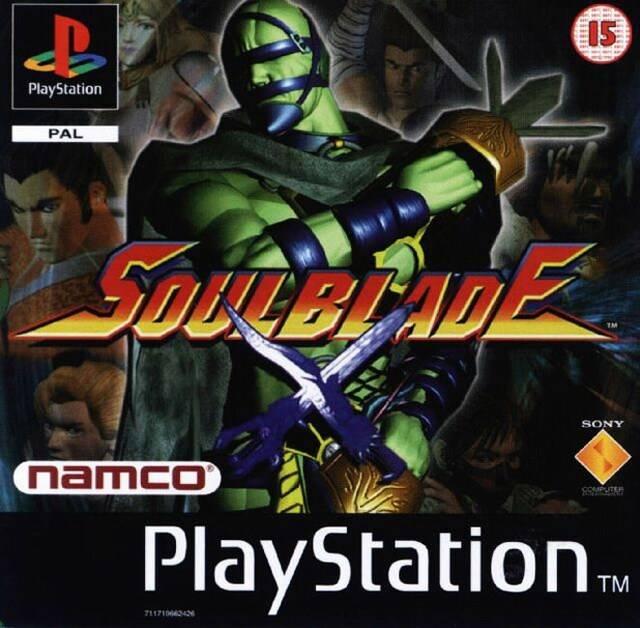 [PS1] Soul Blade [PAL] [Русский] (1996)