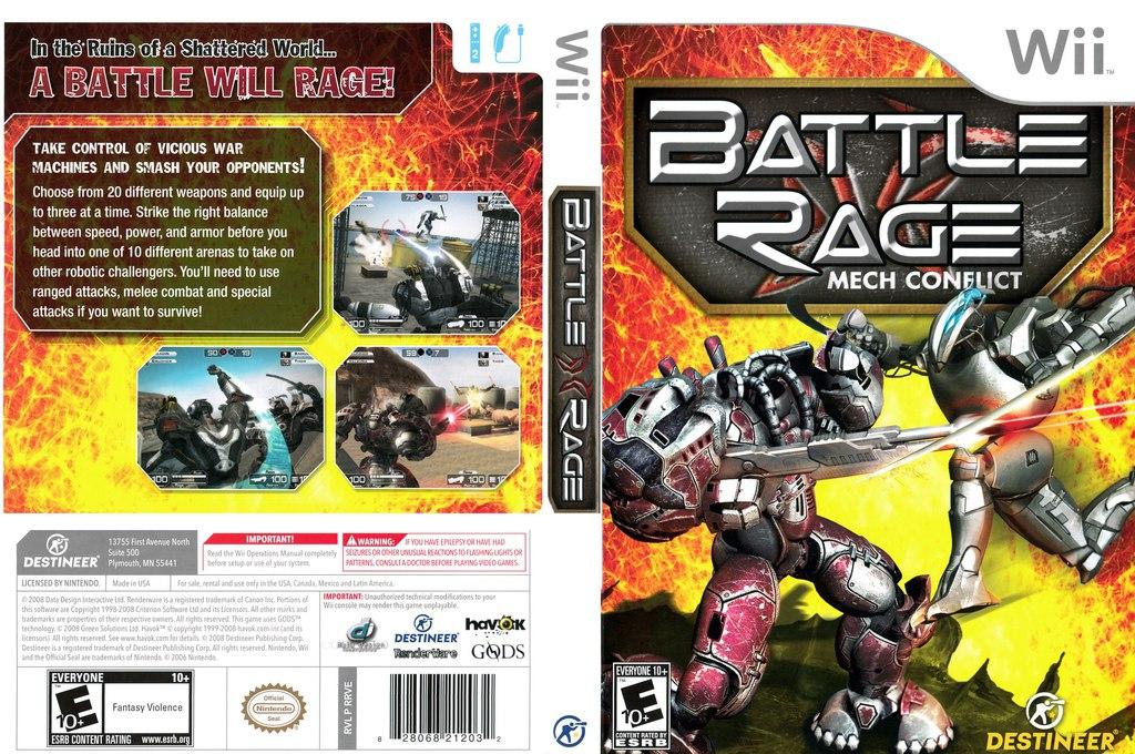 [Wii] Battle Rage: Mech Conflict [ENG][NTSC] (2009)