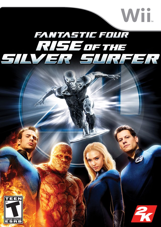 [Wii] Fantastic Four: Rise of the Silver Surfer [ENG][NTSC] (2007)