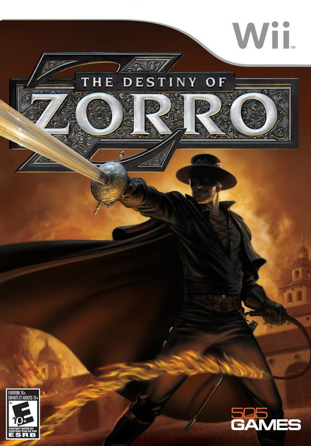 [Wii] The Destiny of Zorro [ENG][NTSC] (2009)